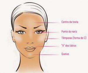 Iluminador Maquiagem para o Trabalho DAMA Semijoias